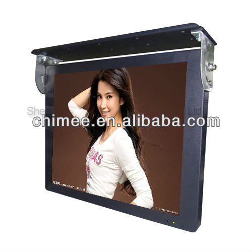 19inch bus lcd handle media advertising player