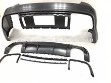 High quality machine grade fiberglass car body kit for GTR travel use