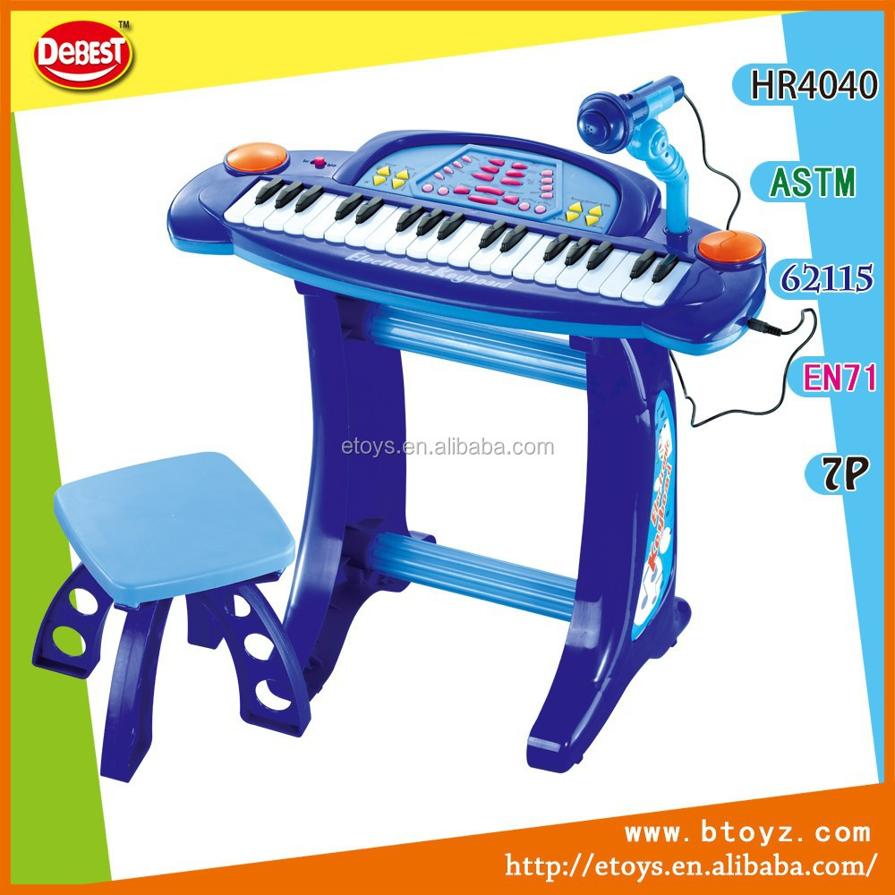 22 Keys Kids electronic organ music keyboard toy with microphone