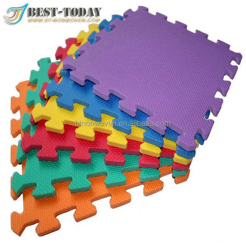 Non-toxic Soft EVA Puzzle Baby Play Mats for Kids