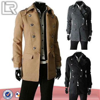 OEM factory hot wholesale Newest long winter men coat