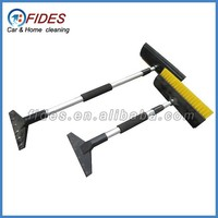 alloy car snow brush with ice scraper water blade