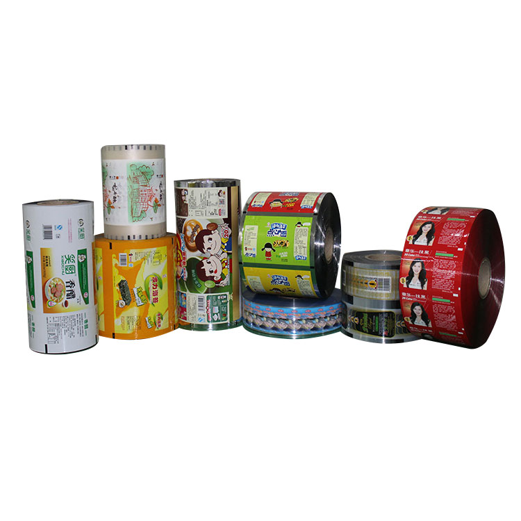 High Grade New Products Flexible Promotion Packing Plastic Roll Film
