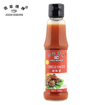 Best Chinese 160g Chili Sauce for supermarket