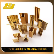 Factory Made Brass profiles for Curtain Wall profiles/ brass curtain wall profiles