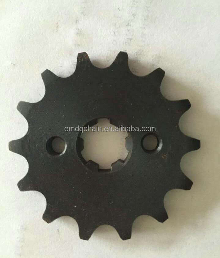 14Teeth Pakistan motorcycle chain and sprocket kit CD70-41-14T 70-100cc motorcycle