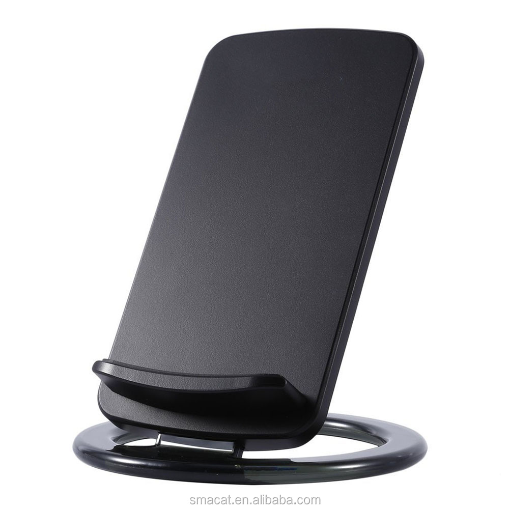 Best design QI Fast Wireless Charger Adjustable Charging cellphone For For Samsung Galaxy Note5 S6 S7 S8 EDGE PLUS