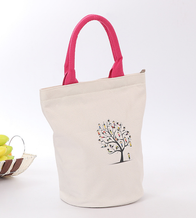 Advertisement logo printed oem cotton tote bag canvas cross body bags