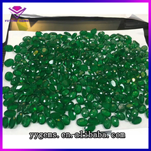 Yuying Gems Manufacturing Faceted Cut Created Emerald Gems Brazilian Emerald