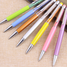 China Wholesale Crystal Metal Pens for School
