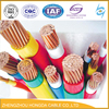 single core copper cable/ 1*6mm2 double insulated XLPE insulated PVC sheath