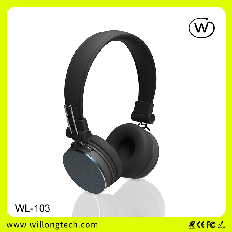 Stereo Bluetooth Headphone Wireless Headset for computer smart phone Laptop PC customised OEM ODM wholesale from Manufacturer
