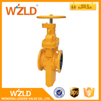 WZLD Handle Control 40 Inch Long Stem Stainless Steel Gate Valve With Any Color Available