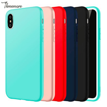Cell Mobile Phone Cover Shell Case For Iphone 7 Slim Silicon TPU Cover Case For Iphone X 8 8s 5 5se 6 6s Plus