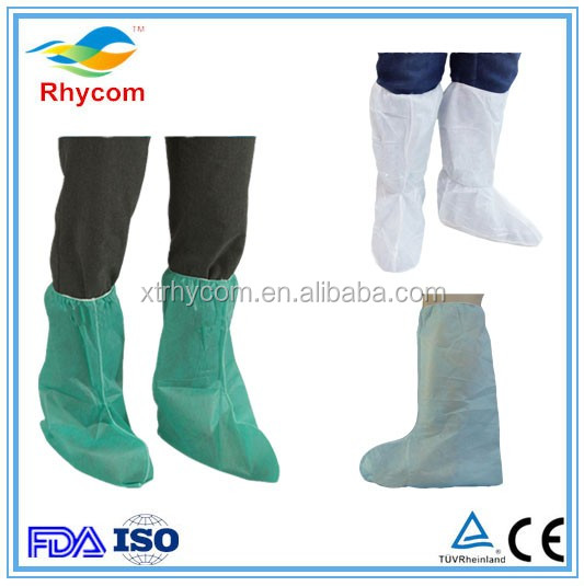 China supplier for the disposable microporous waterproof SF bootys