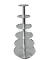 10 tier circle wedding aluminum alloy cake stand