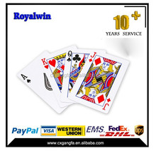 Top Quality casino plastic Playing Cards Poker Set Poker Cards