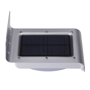 16 LED Solar PIR Sensor Light Solar Powered Led Lamp Solar Security Wall Lights for Outdoor Garden Patio