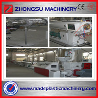 Wire and electrical cable protection pipe making machine