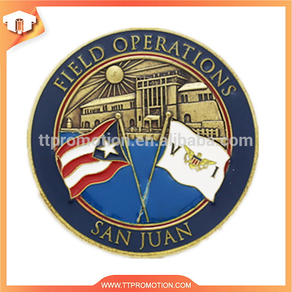 portable marine corps metal souvenir coin with best quality and low price