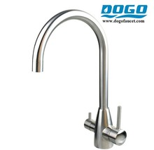 Modern design 304 stainless steel triflow kitchen tap with A Discount