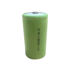 Long cycle life 1.2v nimh battery cell, cylinder recharge batteries nimh 1.2v 800mah D size