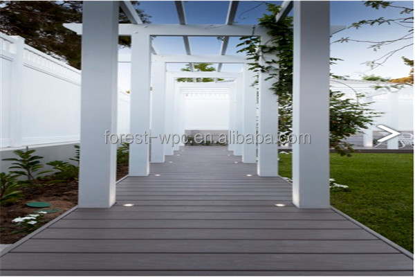 FRS150H22 new design quick easy installation floor composite wood outdoor patio decking floor coverings