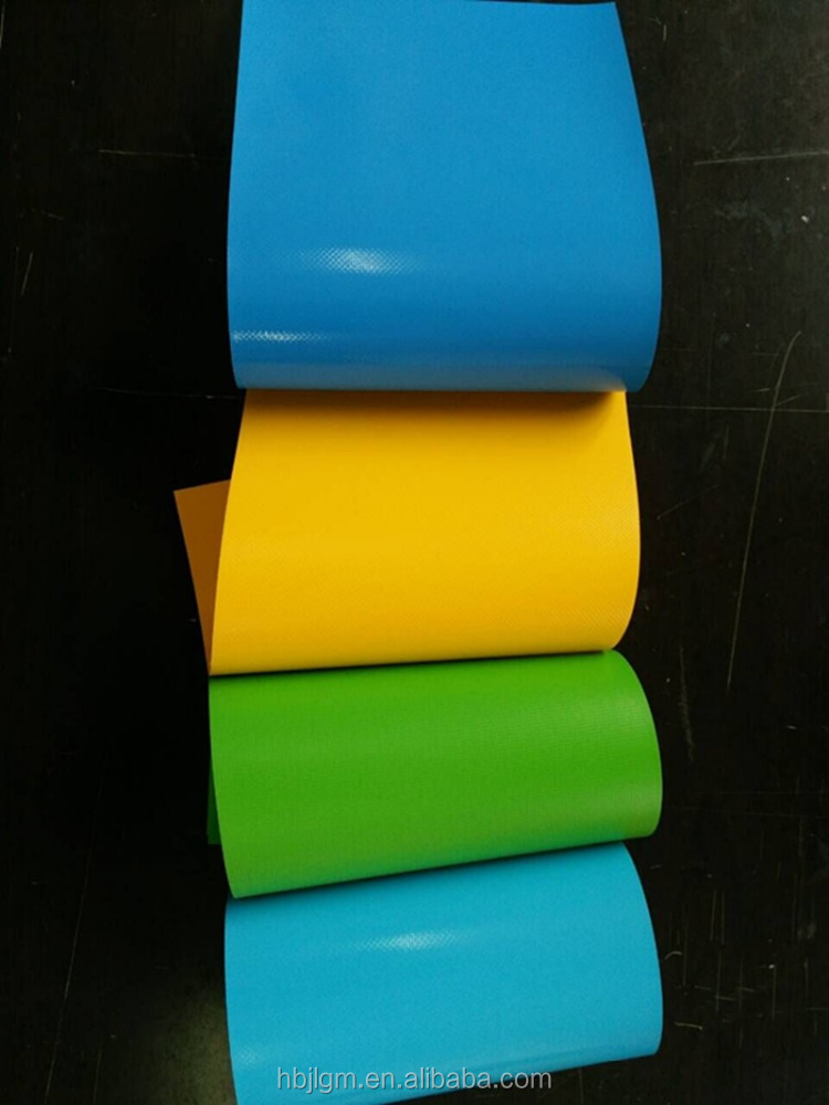 PVC inflatable vinyl material for fish pond, inflatable toys, games