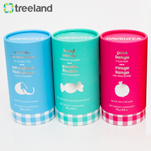 Custom Print Grease proof Paper Tube Round Packaging Boxes