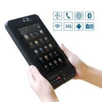 pda mobile android portable data terminal RFID tablet with QR code / Wi-Fi / Bluetooth pda with android os