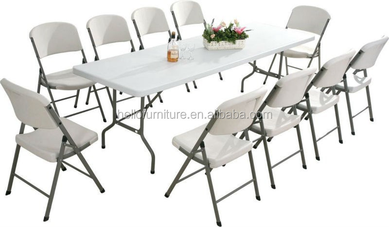 12 seater Large Extendable Dining Table/ Hot Sale Yes Folded Dining Table