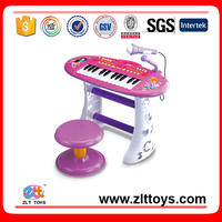 Kids music toy plastic electronic organ electronic keyboard