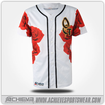 custom cheap baseball tee shirts/blank baseball jersey wholesale/men baseball jersey
