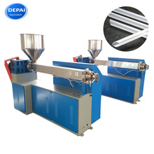 Plastic drinking straw extruder making machine extruding machinery