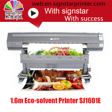 The best quality 1.6m eco solvent printer for banner printing