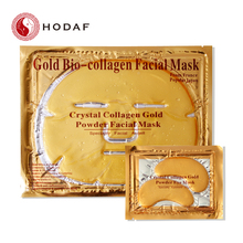 Cristal beauté Visage masques collagène 24 k or blanchiment hydratant visage masques
