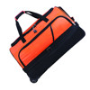 Trolley caster travel kit bag kitbags, roller rolling wheeled holdall sports gym duffel bag, vinyl outdoor off shore duffle bag