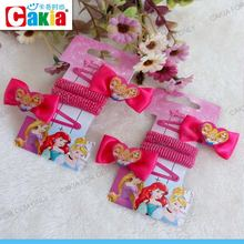 Wholesale China baby girl hair elastic and metal hair claw clip accessories