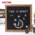 gradient ramp felt letter board with 290 pcs plastic letters including emojis,symbols