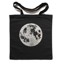 Hot stamping printing 8oz cotton tote bag