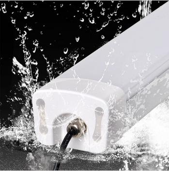 outdoor using waterproof dustproof iP65 tueb light, smd2835 tri-proof for wet places using