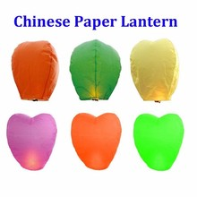 Chinese Supplier Mix Colors Happy Birthday Paper Sky Lantern