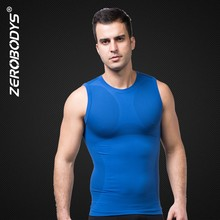 390 BU ZEROBODYS Outdoor Mens Body Shaper Quick Dry Vest <strong>Sport</strong> Top for Men Fitness <strong>Sports</strong> Men Fitness Running Top Tank