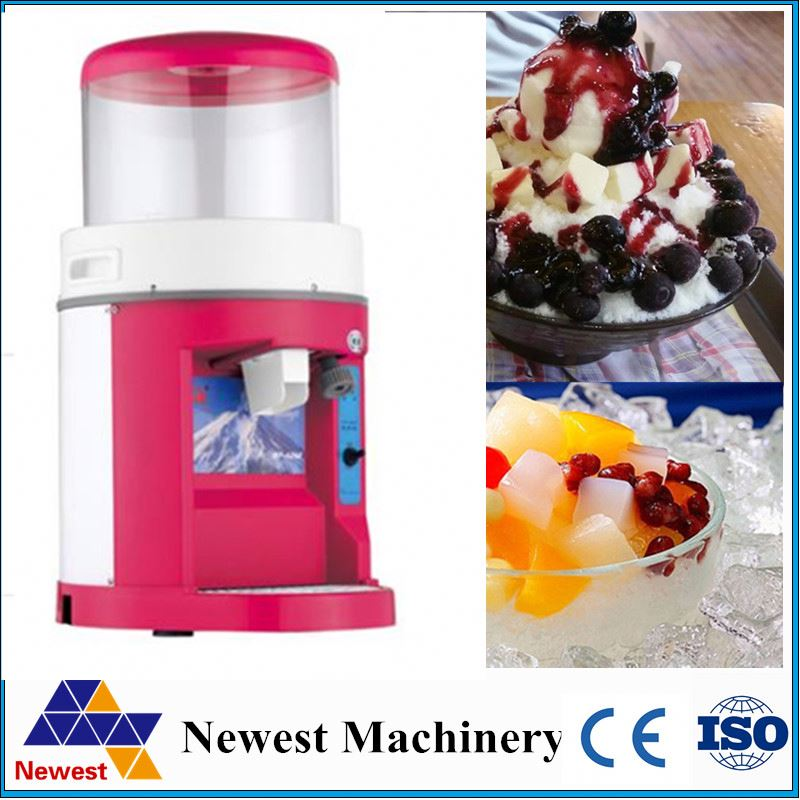 The electric commercial ice maker crusher/commercial portable ice maker crusher/cube ice maker crusher
