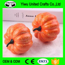 Artificial white pumpkins christmas decoration supplies wholesale foam pumpkins for home decor