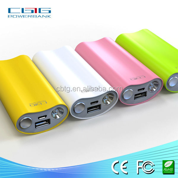 factory price promotional gift PVC emergency portable power bank charger with 2*18650 li-ion battery cell for iphone, ipad, ipod