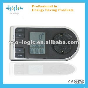 2012 New design digital wireless power meter data logger single phase watt