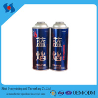 Metal Effect Cassette Gas Empty Aerosol Tinplate Spray Can