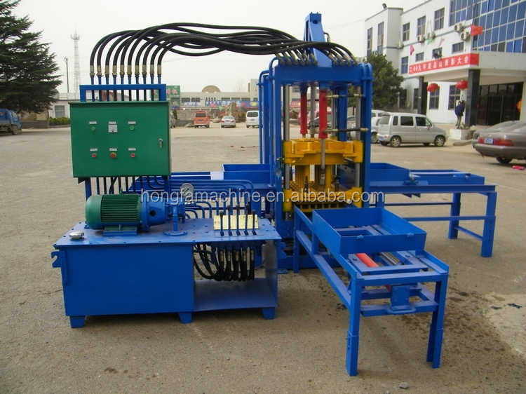 QTF3-20 concrete block making machine price granite block cutting machine paving block making machine