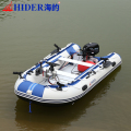 Hider new 0.9mm pvc pontoon inflatable fishing boat for fishing
